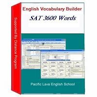 English Vocabulary Builder for SAT 3600 Words