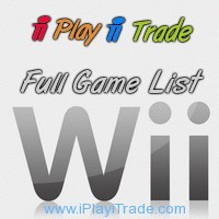 Wii complete game list
