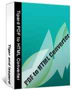 Tipard PDF to HTML Converter