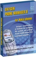 Oxygen Phone Manager II for Nokia phones
