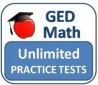 6 Months of Unlimited GED Math Practice Tests