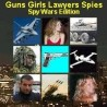 GUNS GIRLS LAWYERS SPIES - Bikini Spy Edition